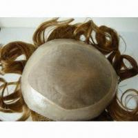 China Toupee with 6 to 24 Inches Length, Customized Requirements are Welacome, Available in Various Color on sale