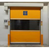 Quality Automatic PVC Fabric High Speed Performance Fast Acting Rapid Rise Overhead Quick Roll up door for sale