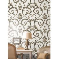 China Heavy / Deep Embossed Wallpapers , Interior Decorative Wallpaper on sale