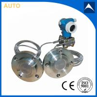 Quality Remote seals type pressure transmitter with dule flange for sale