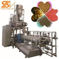 Quality 2-3t/H Dog Food Extruder Machinery Plant Dry Kibble ABB Converter for sale
