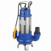 Quality Sewage Submersible Pump with Thermal Overload Protector, 1,100W Power and Float switch for sale