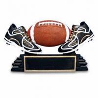 Quality Rugby Football Trophy in Polyresin for sale