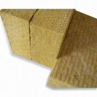 Quality Mineral Wool Slabs with Sound Absorption, Waterproof and Fire-resistant Functions for sale