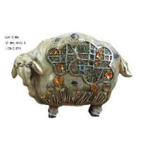 Quality Polyresin Sheep Figurine Decoration (D24-78008) for sale