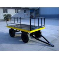 Quality Strong Electric Platform Truck 3 Ton Loading Capacity 10# channel steel Material for sale