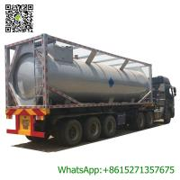 Quality 30ft Mobile LPG Gas Tank Container Gas Filling Station 30000L  LPG Gas Refilling Skid Plant Station for sale
