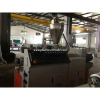 Quality SJ 65 / 30 PE / PP / ABS Small Plastic Profile Extruder Single Screw Extruder Machine for sale