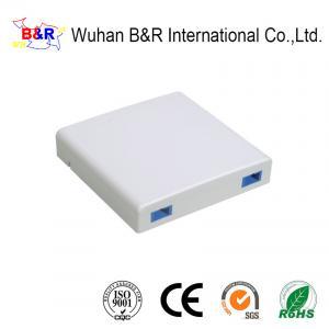Quality Anti UV 2 Cores G652D Fiber Optic Socket for sale