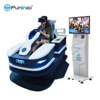 Quality Virtual Reality Headset Car Driving Simulator Electric Amusement Park Rides for sale