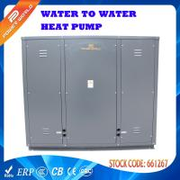 Quality 115kw DC Inverter Water Source Heat Pumps With Plate Heat Exchanger for sale