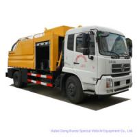 King Run Sewage Suction Truck Combined with Sewer Jetting Cleaning Truck (8cbm -10 cbmLHD -RHD)