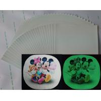 A3 size printing paper Fluorescent glow in the darkness wholesale drop shipping inkjet heat transfer sticker paper