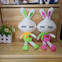 Quality Mixed stuffed plush for grab machine 6-7inches plush bunny  toys for sale