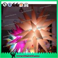 Quality Color Customed LED Lighting Inflatable Stars For Parties Decoration for sale