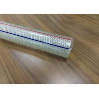 Buy 12mm PVC Braided Hose Pipe 1 / 2 Inch Chemical Resistant For Conveying Liquids at wholesale prices