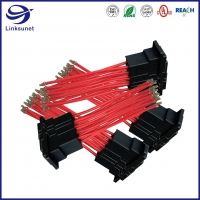 Quality Digital controller Wire Harness with Dynamic D 5200 10.16mm Plug Connector for sale