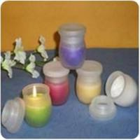 China Glass Jar Soy Candles on sale