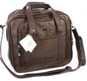 Quality 7017B Brown Leather Men Unique Design Messenger Bag Backpack Travel Bag for sale
