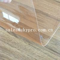 China Eco-Friendly Rigid Plastic Sheet PVC Film Sheet Super Clear PVC Film Thin on sale