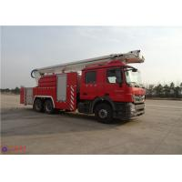 Quality High Strength Telescopic Crane Fire Fighting Vehicles , Heavy Duty Fire Truck Leg Action Time ≤40s for sale