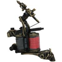 Quality Copper Red Empaistic Tattoo Machine top brand for liner and shader for sale