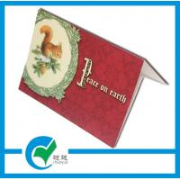 Quality Holiday Greeting Card Stock Paper Printing Services for Sweet Blessing to Family for sale