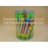 Quality Whistle Pen Sweet Sour CC Sticks Candy With Red / White / Pink Colour for sale