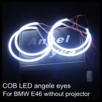 Quality COB LED angel eyes for BMW LED headlight ring LED halo ring for E46 non projector for sale