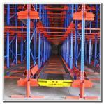 Quality High Density Storage Radio Shuttle Pallet Runner Rack System For Supermarket / Storage for sale