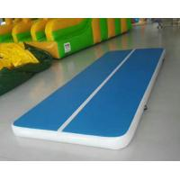 Quality Inflatable Yoga Mat , Commercial Balance Training Floating Tumbling Mat fitness training mat for sale