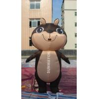 Brown Squirrel Inflatable Advertising Costumes For business Show , EN71