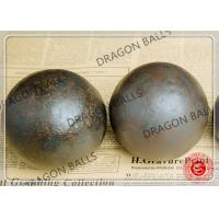 Quality Round Steel Forged Ball Mill Balls 40mm 60mm 70mm Cusomized Size / Material for sale