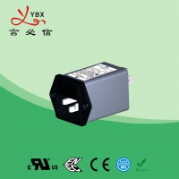 Quality Yanbixin Waterproof Electrical Line Noise Filter Low Pass 10A 120V 250VAC for sale
