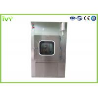 Quality SUS304 SS Pass Through Box Compact Design Long Lifetime For Cleanroom for sale