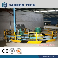 Quality Screw Connection 50m3 Mixer AAC Brick Making Machine for sale