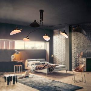 Quality Vintage Loft Suspension Ceiling Lights For Indoor home Kitchen Bedroom Lighting Fixtures (WH-VP-54) for sale