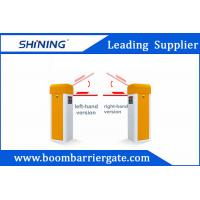 Sliver / Orange Color Car Parking Barrier Gate For Community Vehicle Entrance
