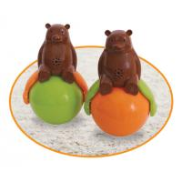 Speakers Tumbler Toy Sound And Light Ball Bear with LED Light Sound and light
