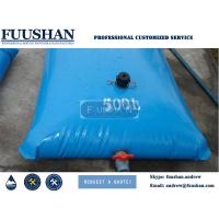 Quality Fuushan Reliable Factory Supplier Pvc Portable Oil Storage Tanks Fuel Storage Bladder  Fuel Tanks For Sale for sale