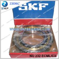 Quality Germany Made SKF NU232ECML/C3 160x290x48mm Cylindrical Roller Bearing With Brass Cage for sale