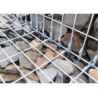 Quality Galvanized Wire Mesh Stone Retaining Wall 3.0 - 6.0 Mm Wire Diameter for sale
