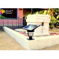 Quality Outdoor IP65 Compound 3w Decorative Solar Powered Garden Street Lamps 3000-6000K for sale