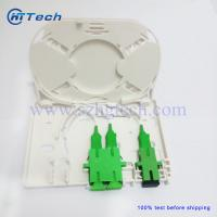 Buy cheap 1~4Cores Fiber Optic Terminal Box FTTH Box Both SC SX and DX Fiber Adapter from wholesalers