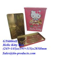 Quality Online Buy Wholesale Blank Tin Bucket from China, Blank food tin boxes wholesalers|Goldentinbox.com for sale