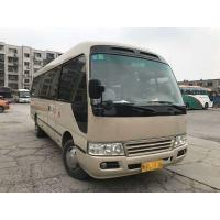 Quality Golden Dragon Used Coaster Bus 2014 Year Gasoline Great Performance With 23 Seat for sale