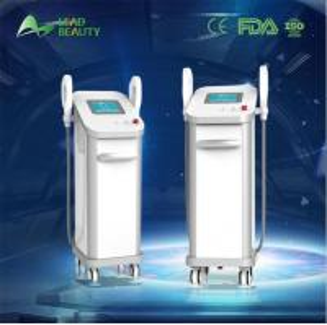 3000W CE approved E-light+OPT skin rejuvenation SHR hair removal