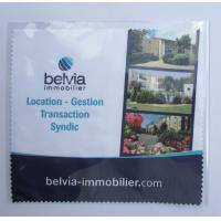 Buy Microfiber Glasses cleaning Cloth Printed 1 Side, Microfiber Eyeglass Cleaning Cloth at wholesale prices
