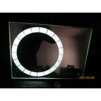 Quality Modern Hotel round bath mirror  with white color lighted source for sale