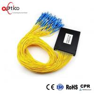 Customized PLC Fiber Optic Splitter Module 1X64 Full Operating Wavelength 1260-1650nm